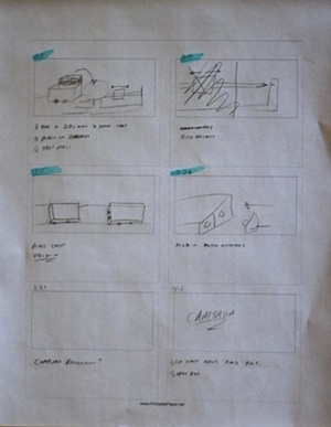 A simpe storyboard