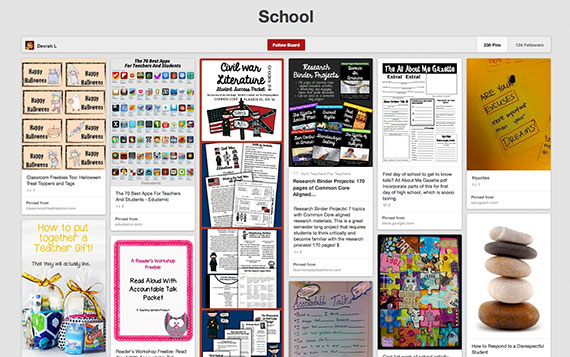 Devra Lawver Pinterest education