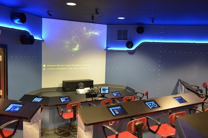 Dream Flight Adventures uses tolls such as iPads, computers and lights to create simulation rooms for schools.