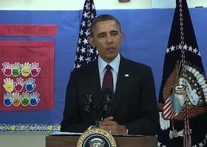 President Obama introduces fiscal year 2015 budget proposal