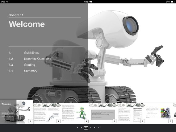 robotics etextbook for ipad