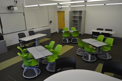 Furniture at the Newmark School