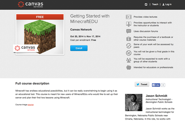 Getting Started with MinecraftEDU, is designed to introduce teachers to using the game as an educational tool.