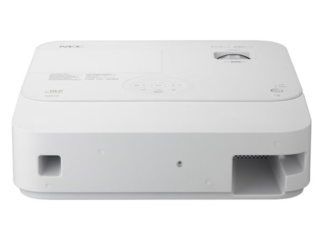 The NEC Display M402H projector has the same color levels as traditional LCD projectors.