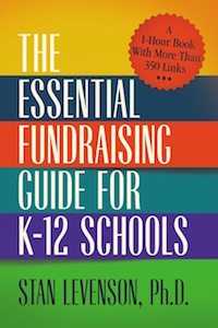 book cover: The Essential Fundraising Guide for K-12 Schools