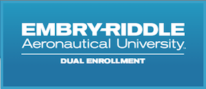 Embry-Riddle dual enrollment logo