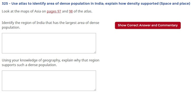 NAEP sample geography question