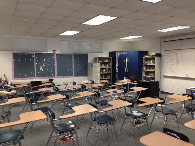 Classroom Design Study ~ Florida school revamps classroom to study best active