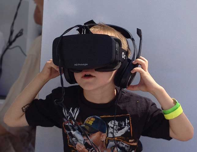 Oculus Rift  for K-12 education