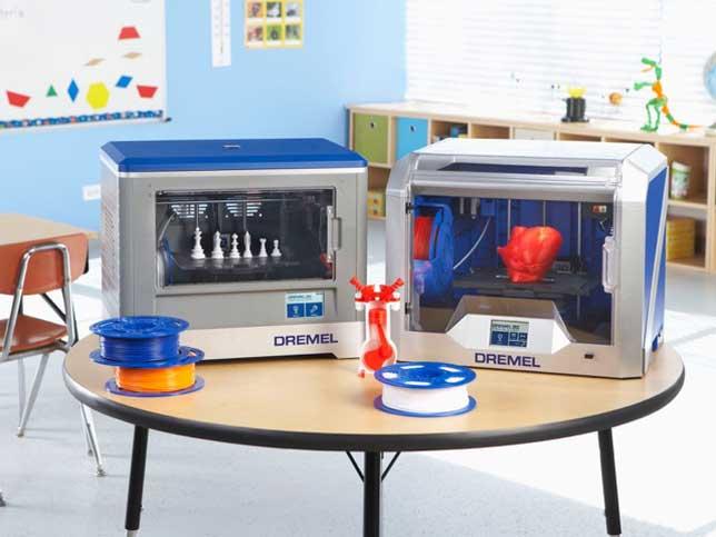 dremel rolling out next generation pla 3d printer for education the journal. Black Bedroom Furniture Sets. Home Design Ideas