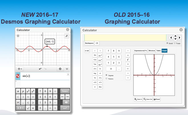 CAASPP Upgrades to Desmos Calculator for Online Testing