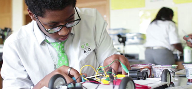 From Green Street Academy's winning project on photovoltaic energy in cars. GSA is a middle school in Maryland.