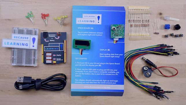 Stem learning kits with arduino sensors now free for